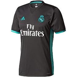 adidas Real Madrid Camiseta Temporada 2017/2018, Hombre, Negro, L