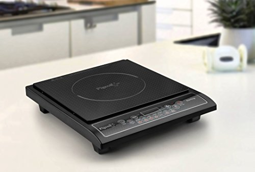 Pigeon Sterling Induction Cooktop Black with Push Button Control