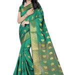 INDIAN BEAUTIFUL WOMEN'S ETHNIC WEAR SAREE WITH BLOUSE PIECE
