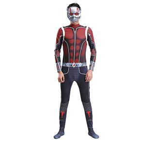 CHANG Cosplay Ropa Traje De Cosplay De Ant-Man Y La Avispa Marvel Tight Disfraces De Halloween para Halloween/Vestimenta…
