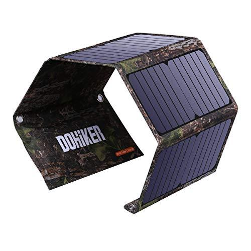 Dohiker Cargador Solar portátil y Plegable...