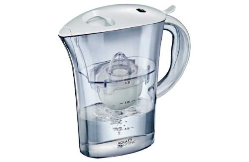 Aqua Optima Clarion 2L water filter jug with cartridges bundle (white) (1 month of Aqua Optima 30-Day) (1 cartridge)