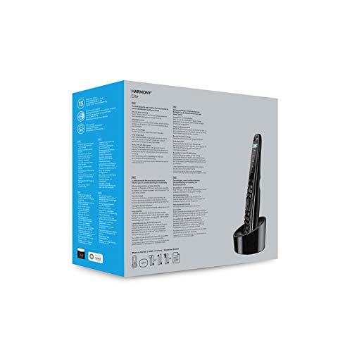 41Tf2FqjG2L [Bon Plan Philips Hue] Logitech Télécommande Harmony Elite Harmony Hub et Application Design Elégant Télécommande Universelle Actions Rapides Configuration Facile Noir