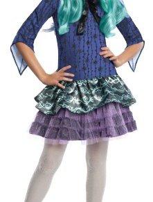 Monster High - Disfraz de Twyla para niña, infantil 3-4 años (Rubie's 886704-S)