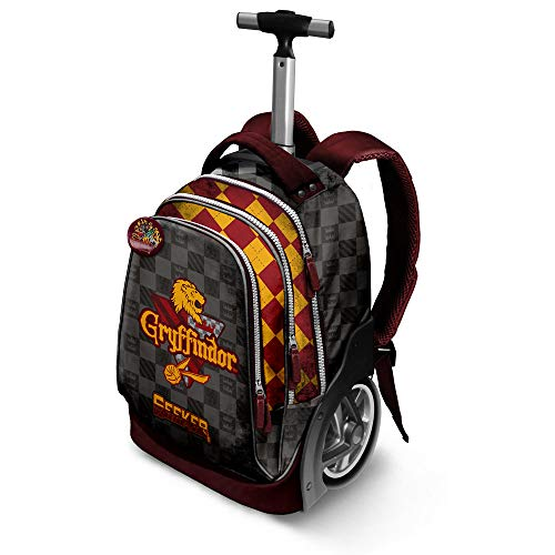 Harry Potter Quidditch Gryffindor-GT Travel Trolley-Rucksack Zaino Casual, 42 liters, Rosso