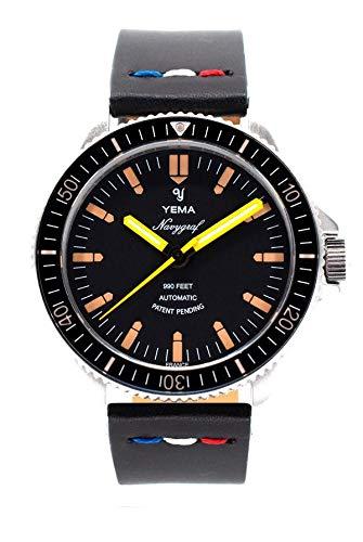 Yema - Orologio da uomo NAVYGRAF Heritage YNAV2019-AA2S