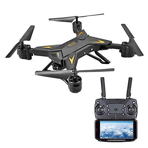 Qiyun RC Drone 11LED Professionale Pieghevole Controllato Telecomando App Smartphone per 20 Minuti...
