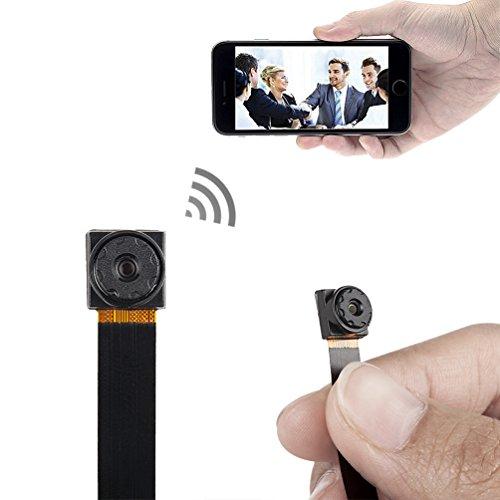 xingan Mini Súper Pequeño Portátil Cámara Espía Oculta P2P Wireless WiFi Digital Video Recorder para iOS Iphone Android Phone con mando a vista