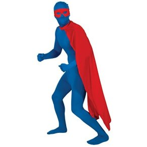 Red Superhero Cape - Adult Accessory Adult - One Size