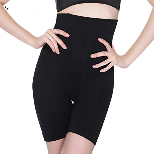 Wave Fashion - Women's Slim n Lift Body Shaper High Waist in Black Color Size- XL