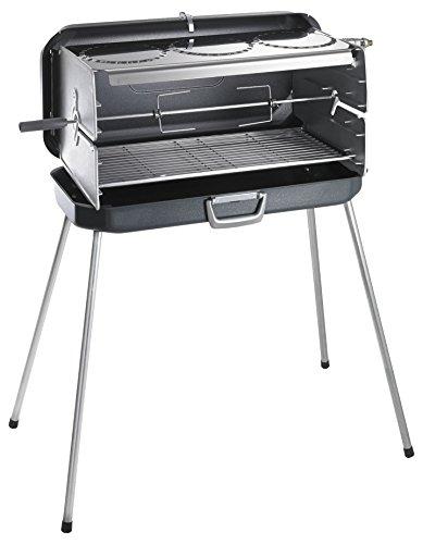 Dometic Classic 1 Barbecue a griglia portatile , funzionamento a gas, con tre piastre di cottura (...
