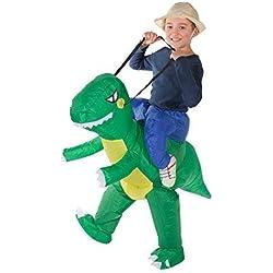 Bodysocks® Disfraz Hinchable de Dinosaurio Niño