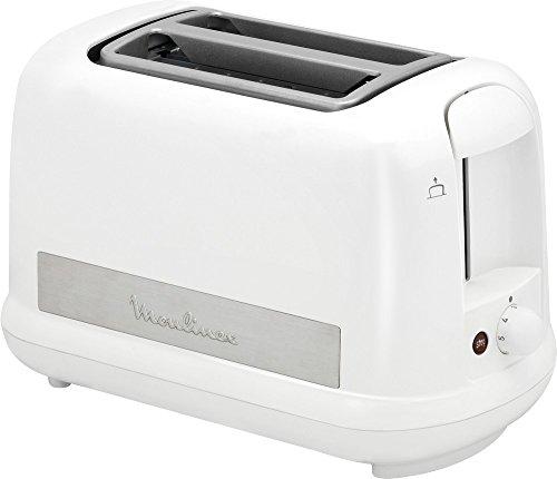 Moulinex LT162111Tostapane Principio Plus, bianco 30,2X 17,2x 19,6cm