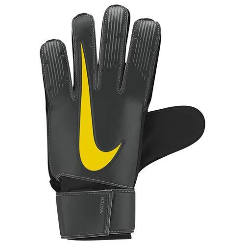 Nike Nk GK Match-Fa18, Guanti Portiere Uomo, Anthracite/Black/Opti Yellow, 8