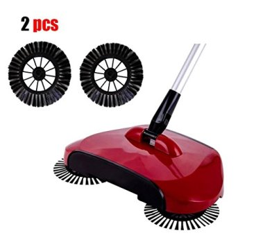 Culater Home Use Magic Manual Telescopic Floor Dust Sweeper Sid (Standard, Multicolour) - Set of 2 Pieces 2