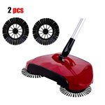 Culater Home Use Magic Manual Telescopic Floor Dust Sweeper Sid (Standard, Multicolour) - Set of 2 Pieces 12