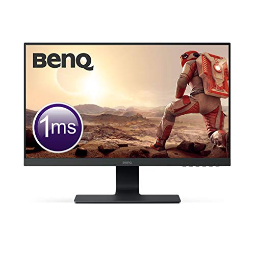 BenQ GL2580HM Écran Gaming de 24.5 pouces, FHD 1080p, 1ms, Eye care, HDMI, Haut-parleurs 22