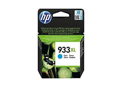 HP 933 XL Ciano CN054AE Cartuccia Originale per Stampanti HP a Getto di Inchiostro, Compatibile con...