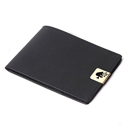 Jade Spade Leather Black Men's Wallet