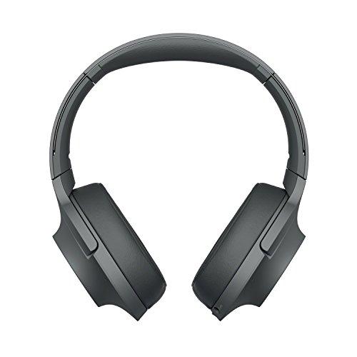 Sony WHH900N - Auriculares de Diadema inalámbricos (H.Ear, Hi-Res Audio, cancelación de Ruido, Sense Engine, Bluetooth, Compatible con aplicación Headphones Connect) Negro