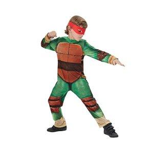 Disfraz de Tortuga Ninja para niños, talla infantil 3-4 años (Rubie's 610525-S)