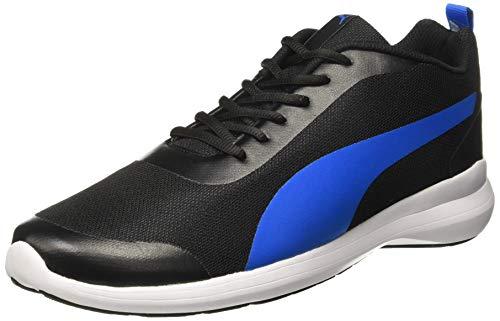 Puma Men's Lazer Evo Idp Black Running Shoes-8 UK (42 EU) (9 US) (37189601_a)