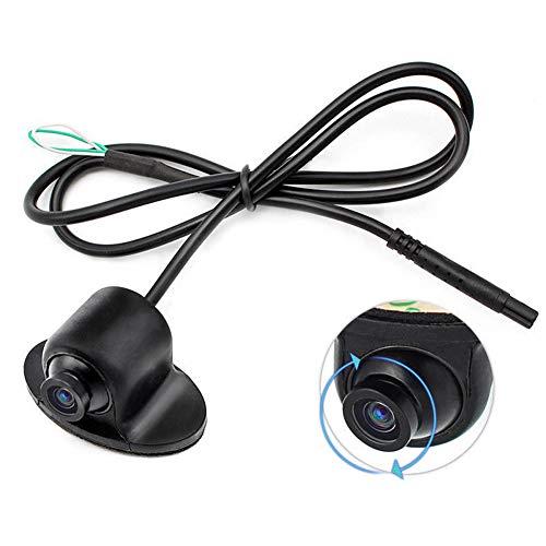 Neborn Mini CCD HD Visione Notturna 360 Gradi Auto Visione Posteriore Fotocamera Anteriore Vista Anteriore Lato Telecamera di Supporto 12 V
