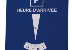 Disque de stationnement Zone Bleue Liste de prix