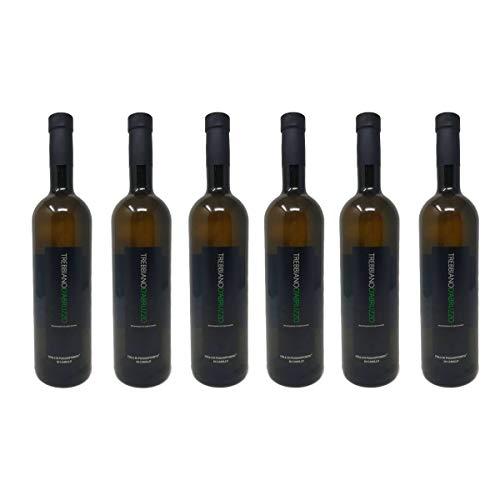 6 Bottiglie di Trebbiano D'Abruzzo D.O.P