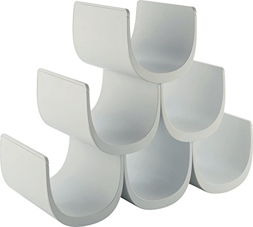 Alessi Noè GIA13 Portabottiglie di Design in Resina Termoplastica, Bianco