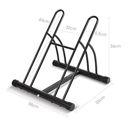 fixkit r telier familial pancher de v lo mur pour 2 v los rack stockage verrouillage support. Black Bedroom Furniture Sets. Home Design Ideas