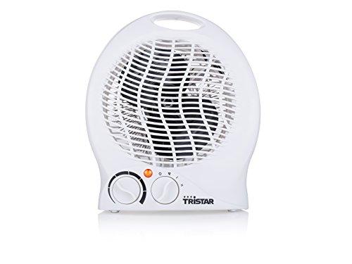 Tristar KA-5039 - Calefactor eléctrico 3 funciones ajustables, termostato regulable, ventilador, 200 W