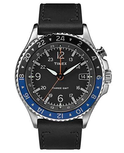 Timex Orologio Analogico Quarzo Uomo con Cinturino in Pelle TW2R43600