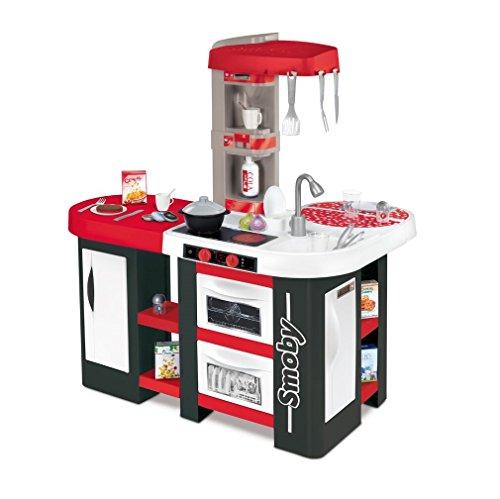 Smoby-Cucina Studio XL sin tañosllaños Rosso