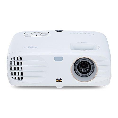 Viewsonic PX747-4K UHD Heimkino DLP Beamer (4K, 3.500 ANSI Lumen, 2x HDMI, 10 Watt Lautsprecher, 1.2x optischer Zoom, HDR) weiß