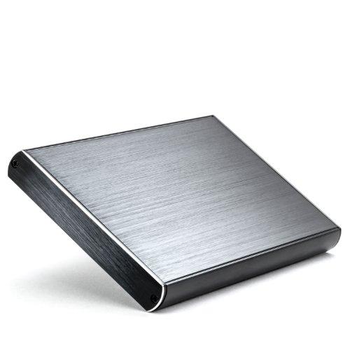 CSL - USB 3.0 Case Esterno per 2.5 Pollici SATA HDD - Custodia Disco Fisso per Dischi rigidi da 2.5 Pollici 6.4cm S-ATA SSD HDD - per 1TB 2TB 3TB e Oltre - Compatibile Windows 10 - Alluminio