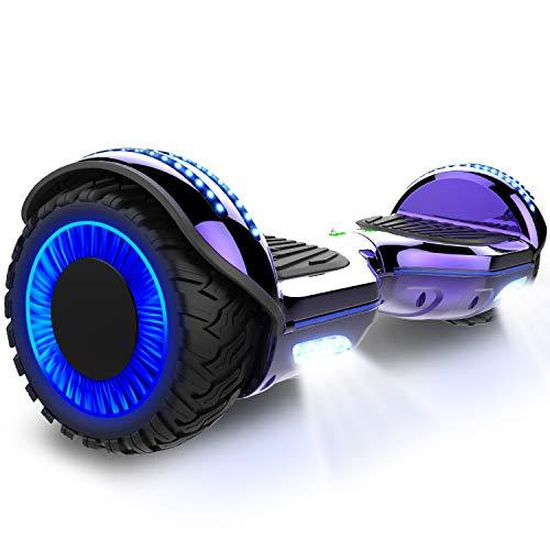 GeekMe 6.5 pollici Monopattino Elettrico Smart Auto bilanciato scooter elettrico con due ruote Board...