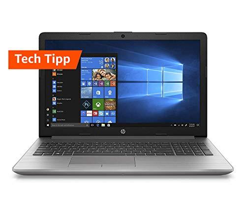 HP 250 G7 (15,6 Zoll / HD) Business Laptop (Intel Pentium 4417U, 8GB DDR4 RAM, 1TB HDD, 128GB SSD, Intel HD Grafik 610, Windows 10 Home) Silber