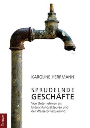 Sprudelnde Geschäfte: Von Unternehmen als Entwicklungsakteuren und der Wasserprivatisierung von [Herrmann, Karoline]