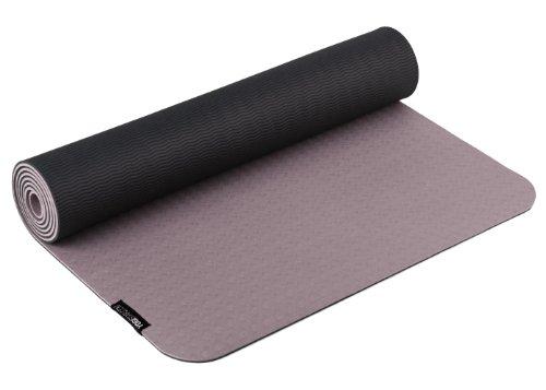 Yogistar Yogamatte Pro - sehr rutschfest - Creme