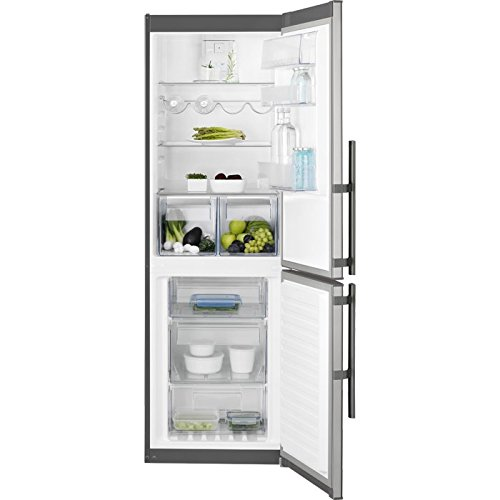 Electrolux EN3453MOX Libera installazione 314L A++ Acciaio inossidabile frigorifero con congelatore