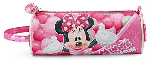 Minnie Mouse Bubblegum Astuccio, 22 cm, Rosa