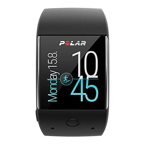 Polar M600 Smartwatch, Unisex, M600 Smartwatch Black, M/L