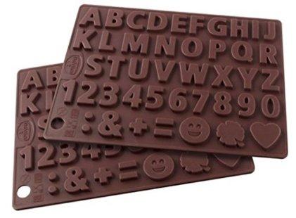 Dr-Oetker-Silikon-Schokoladenform-Buchstaben-und-Zahlen-Silikon-Silikonformen-2er-Set-Deko-GeburtstagskuchenGieformen-fr-Schokolade-Menge-2-Stck