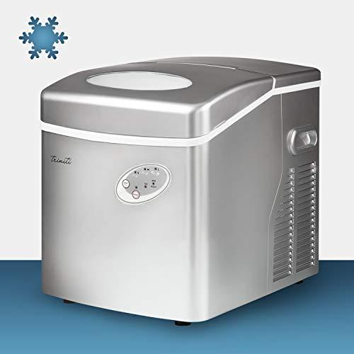 MACCHINA PER CUBETTI DI GHIACCIO FABBRICATORE TRINITI 20-25 KG IN 24H ICE MAKER