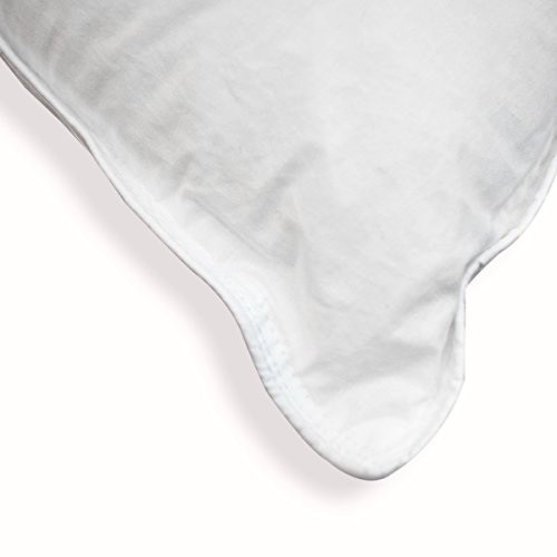 Bleu Câlin Lot de 2 Oreillers Confort 'Alaska' Blancs 65x65 cm OCPI 25