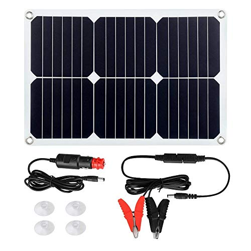 El Panel Solar Flexible Portátil 20W Cargador Solar Del Panel De Carga De Energía Móvil Fotovoltaica Tesoro 100% A Prueba De Agua