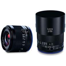 Carl Zeiss Loxia 2/50 - Objetivo (MILC/SLR, M52, 6/4, Sony E, Sony α7, Negro)