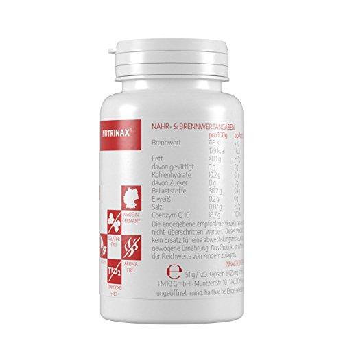 Coenzym Q10 100mg – 120 Kapseln hochdosiert 100mg für 4 Monate – Made in Germany – vegan – ohne Magnesiumstearat - 4