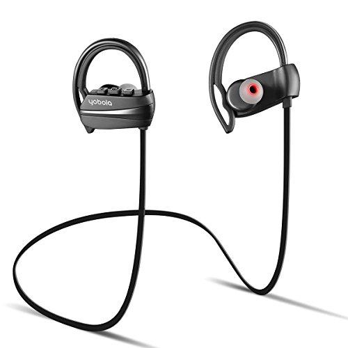ab7e87e84ff yobola Super Larga Espera Auriculares Bluetooth Correr, Deporte Running ...